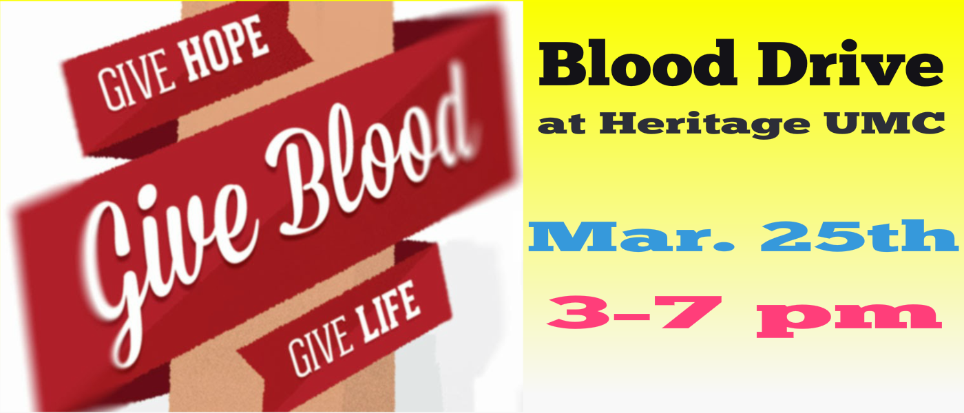 March2020 Blood Drive
