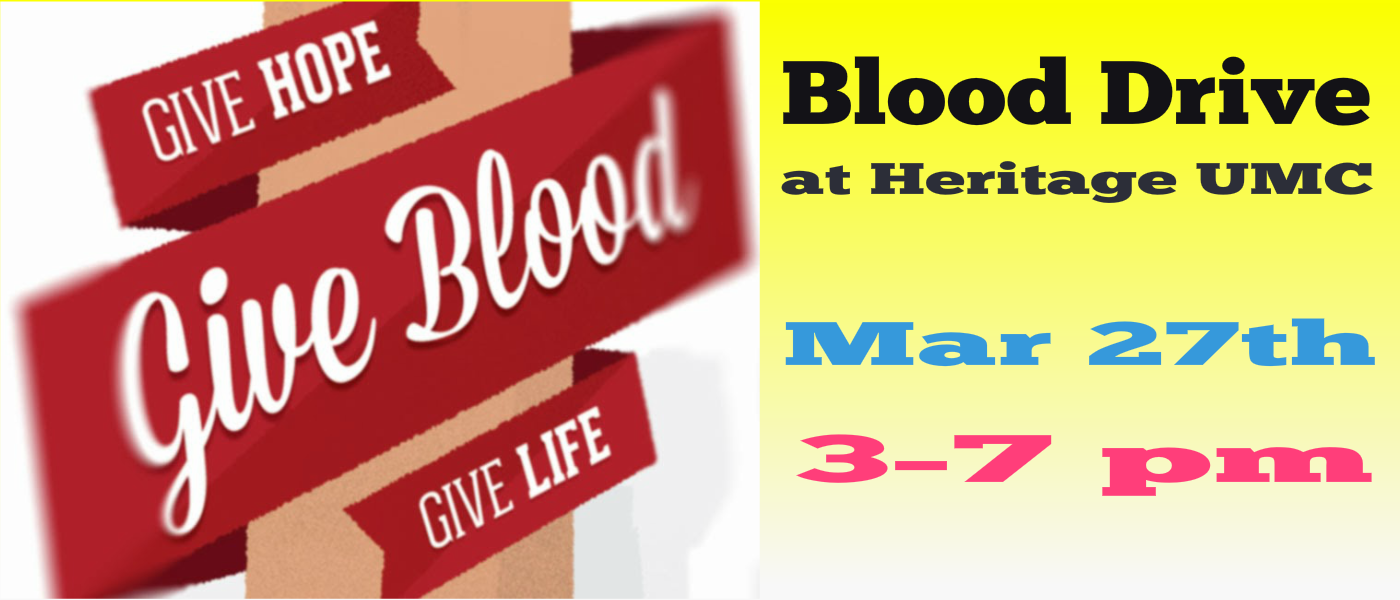 March Blood Drive