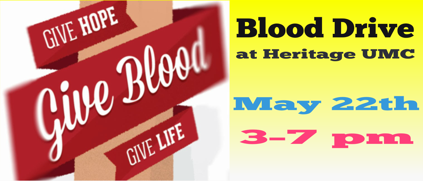 May Blood Drive